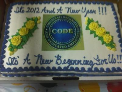 New Beginnings Party Cake!